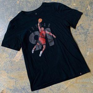 Air Jordan Bred 1991 Shirt 561416-00A Jumpman